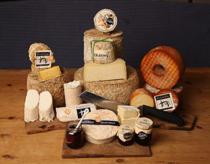 selection of corleggy cheese